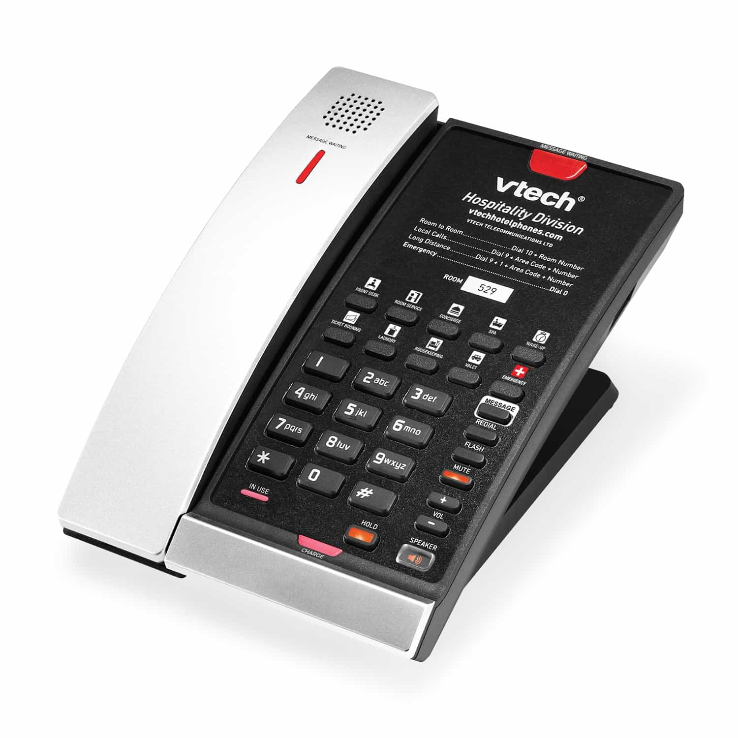 VTech CTM A2411 in silver and black