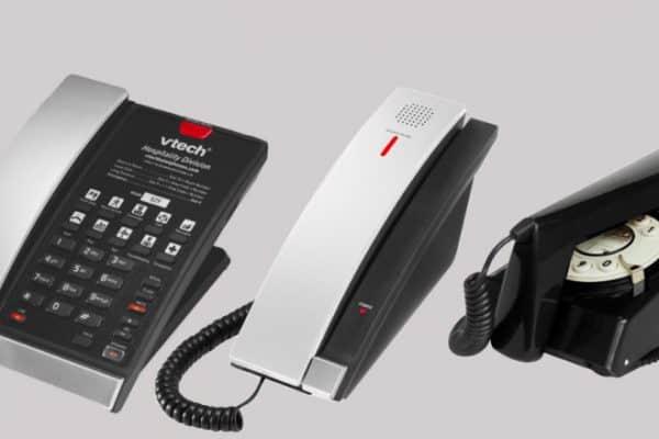 Guestroom phones