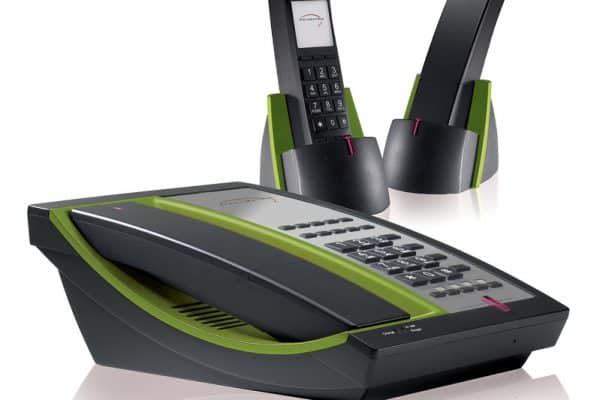Telematrix 9600 MWD5 DECT - Black/ Lime