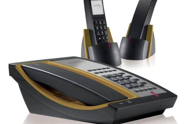 Telematrix 9600 MWD5 DECT - Black/ Ochre
