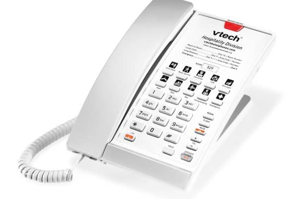 VTech S2210 - Silver & Pearl