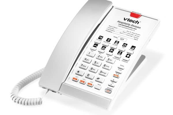 VTech S2220 - Silver & Pearl