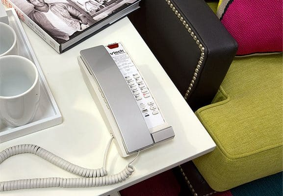VTech A2221 - Silver & Pearl